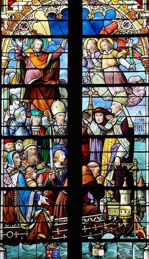 Eglise St Joseph à Angers - Pie IX proclame Saint Joseph patron de l'Eglise universelle