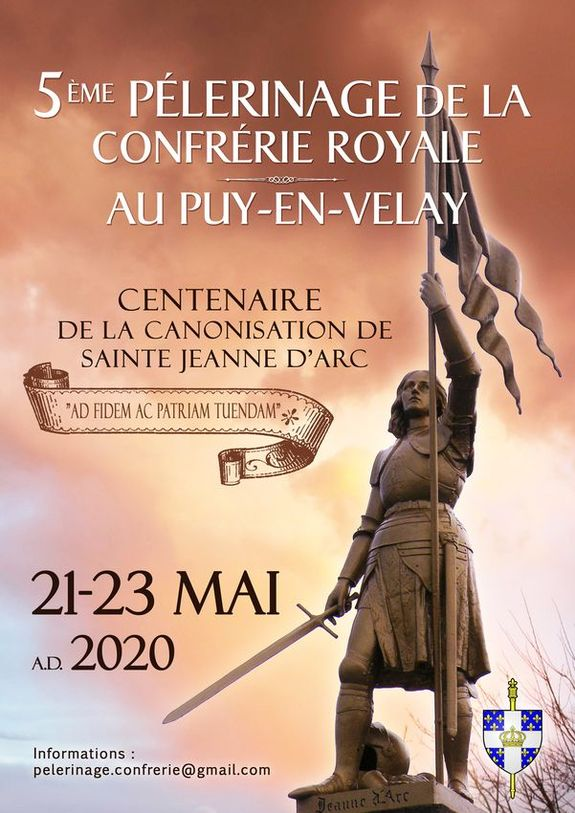 Affiche Pèlerinage Puy-en-Velay 2020