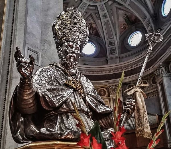 Buste reliquaire de Saint Paulin de Nole