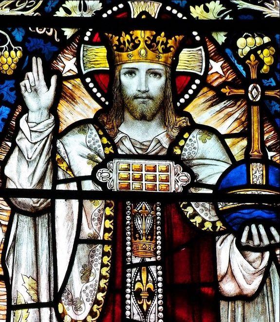 Christ-Roi - église Sainte-Marie à Ely  Cambridgeshire