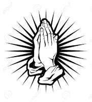 mains jointes - prière