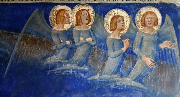 Cortège des anges aux funérailles de Saint Martial - palais des papes Avignon