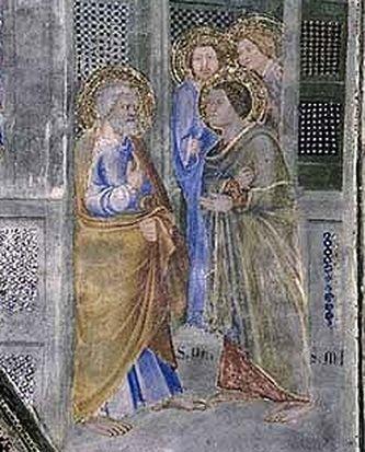 Envoi de Saint Martial dans les Gaules - palais des papes Avignon