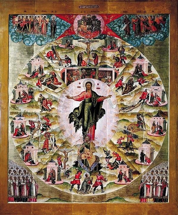 icône de la mission des Apôtres