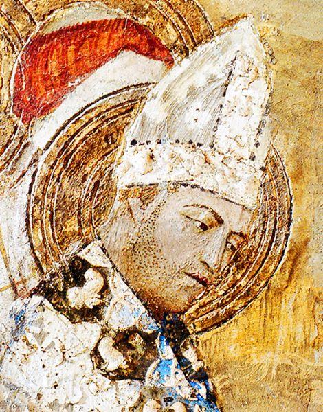 Saint Martial présenté sous les traits de Clément VI - palais des papes Avignon
