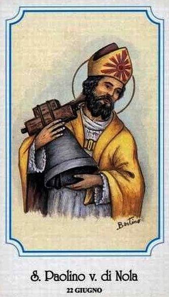 Saint Paulin de Nole - image de dévotion populaire