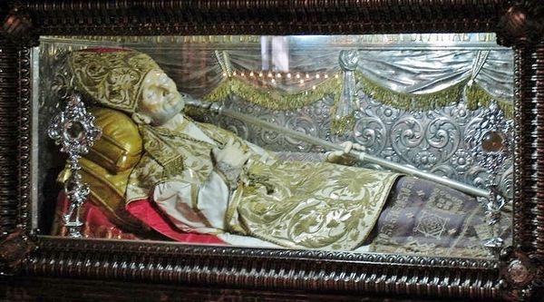 châsse de Saint Alphonse-Marie de Ligori