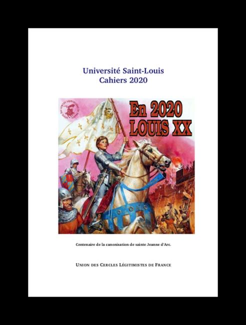 Couverture cahiers université d'été 2020