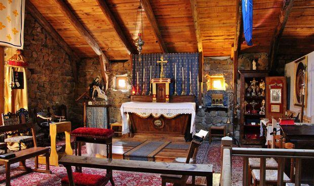 Camp-chantier Saint Constantin  - oratoire du Mesnil-Marie le 8 juillet 2020