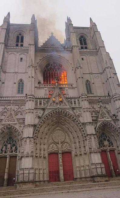 Incendie de la cathédrale de Nantes - 18 juillet 2020