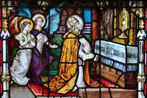 St Alphonse-Marie de Liguori - vitrail de la cathédrale de Carlow