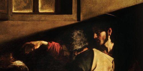 La vocation de Saint Matthieu - Le Caravage - détail 1