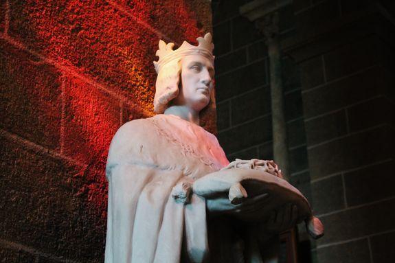 Statue de Saint Louis - Le Puy