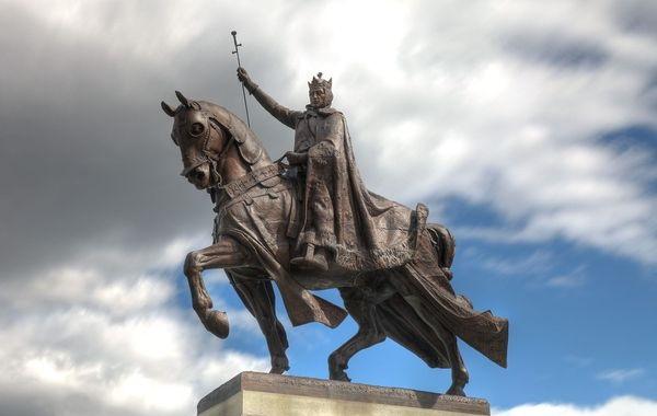 Statue de Saint Louis - Saint-Louis du Missouri