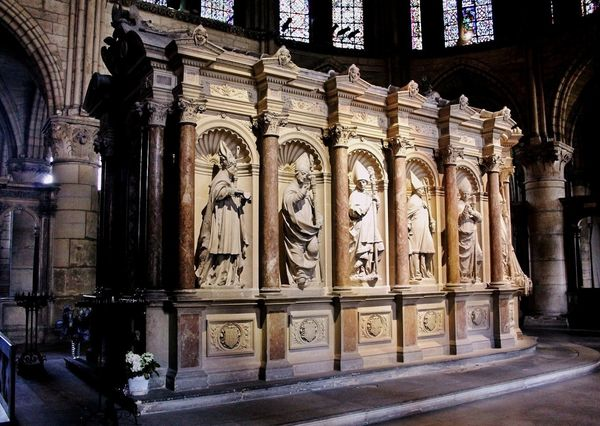 Tombeau de Saint Remi - basilique Saint-Remi à Reims