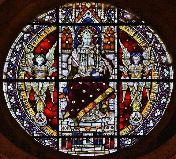 Christ en gloire - vitrail