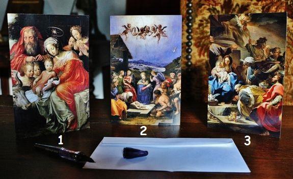 Cartes de vœux modèles 1-2-3