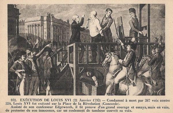 Martyre de Louis XVI