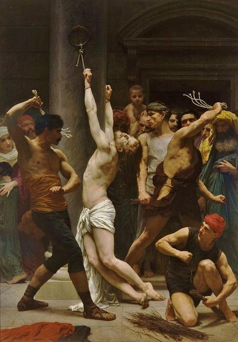 William Bouguereau - Flagellation 1880 - cathédrale de La Rochelle