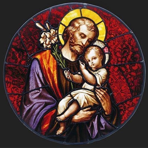 Saint Joseph - vitrail