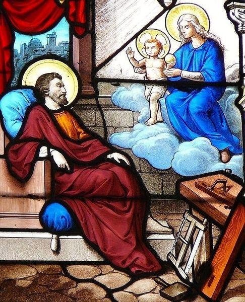 Songe de Saint Joseph - église Notre-Dame de Sablé-sur-Sarthe