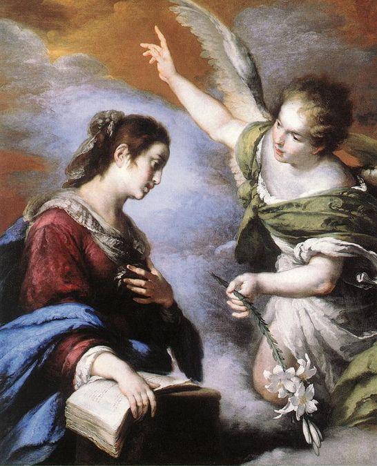 Strozzi Bernardo - Annonciation 1643-44