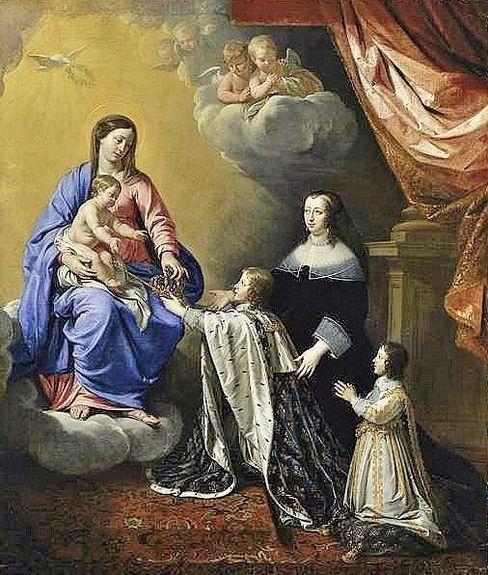 Philippe de Champaigne - Louis XIV renouvellant le voeu de Louis XIII