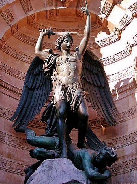 Saint Michel - Paris fontaine Saint-Michel