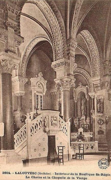 Basilique de La Louvesc - chaire de vérité