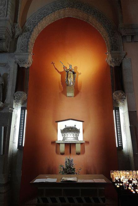 Basilique de La Louvesc - chapelle des reliques