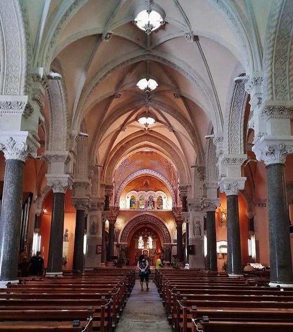 Basilique de La Louvesc - intérieur en 2021