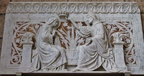 Basilique de La Louvesc - vestige de l'autel de la Vierge