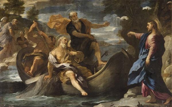 Luca Giordano - l'appel des premiers apôtres