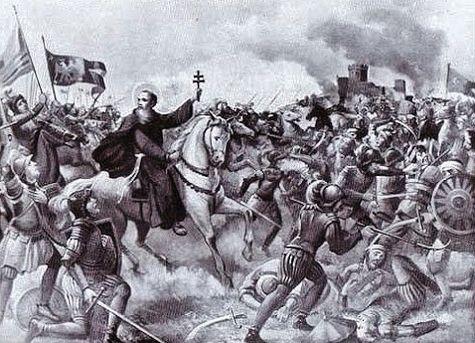 Saint Laurent de Brindes à la bataille d'Albareale