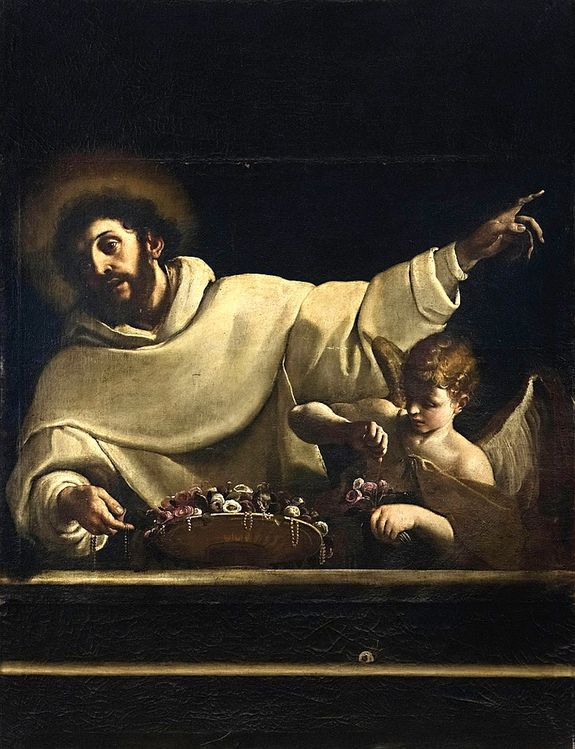 Alessandro Tiarini (1577-1668) - Saint Bernard de Clairvaux