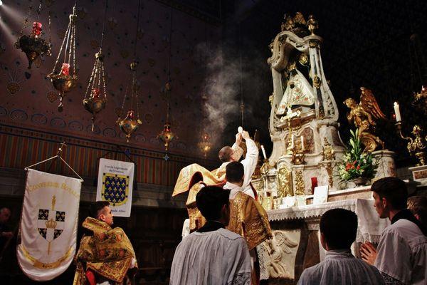 Messe à l'autel de la Vierge Noire 2019