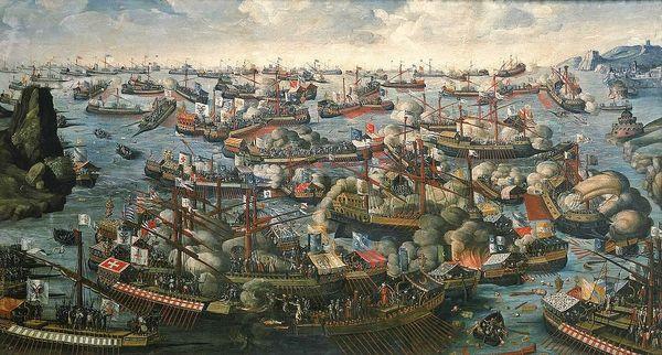 7 octobre 1571 bataille de Lépante