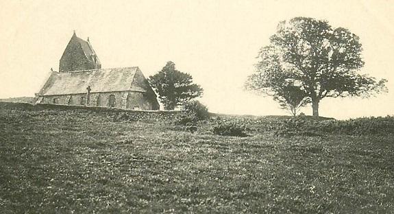 Doville l'ancienne église