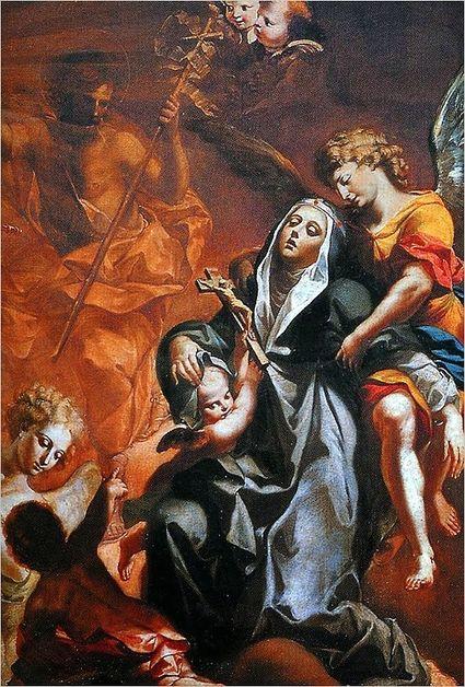 Extase de Sainte Brigitte