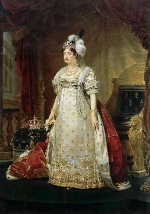 Marie-Thérèse-Charlotte de France - Antoine-Jean Gros 1816