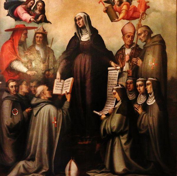Sainte Brigitte fondatrice